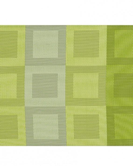sets de table stuco rectangulaire motif géométrique couleur vert anis tendance 2016