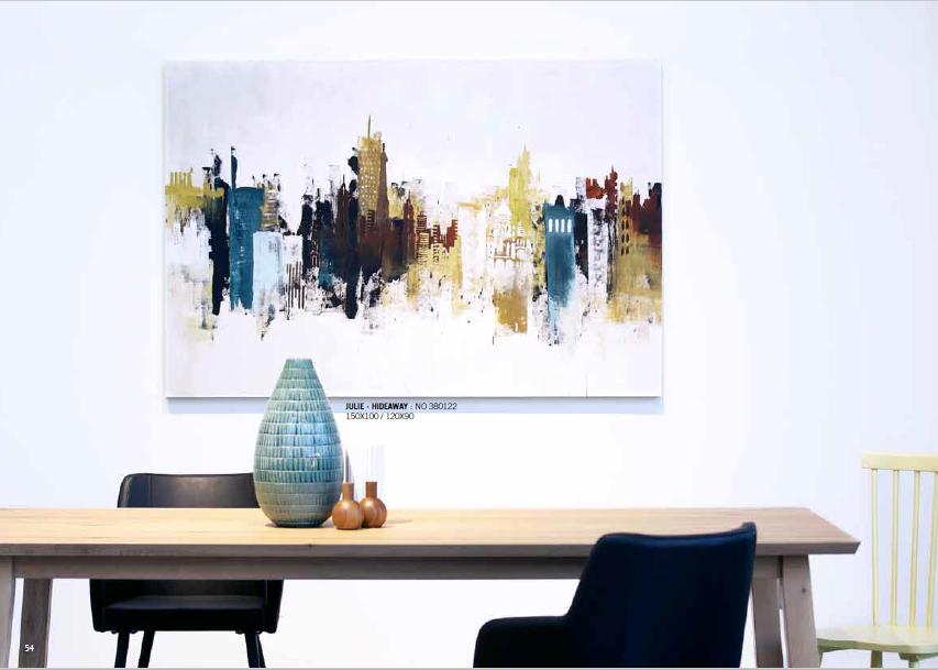 catalogue 2016 Malerifabrikken artiste Freja peinture acrylique