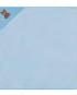 serviette à capuche bleue pour bébé égeria joditex