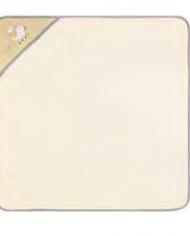 serviette à capuche bébé jaune joditex