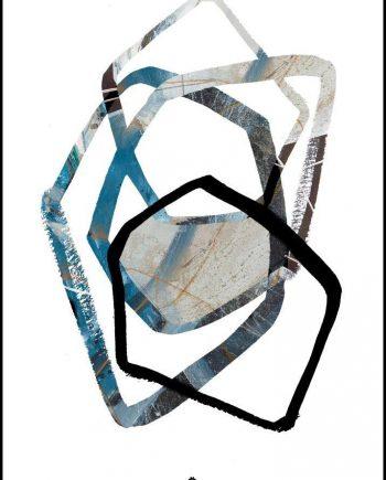 tableau tendance Alu Art Abstract 2