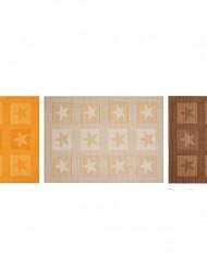 sets de table stuco 9047 motif étoile