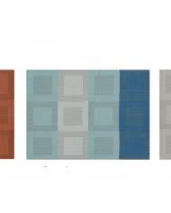 sets de table stuco 9040 rectangulaire motif géométrique