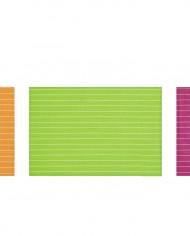 sets de table stuco 2215 rayures fines couleurs vives pop