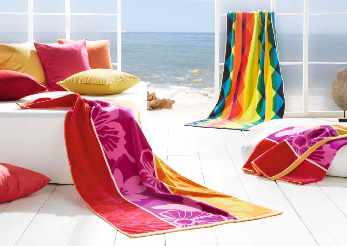 serviettes de plage egeria collection 2016