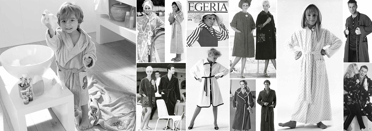 Collection Egeria 2018 - Les peignoirs